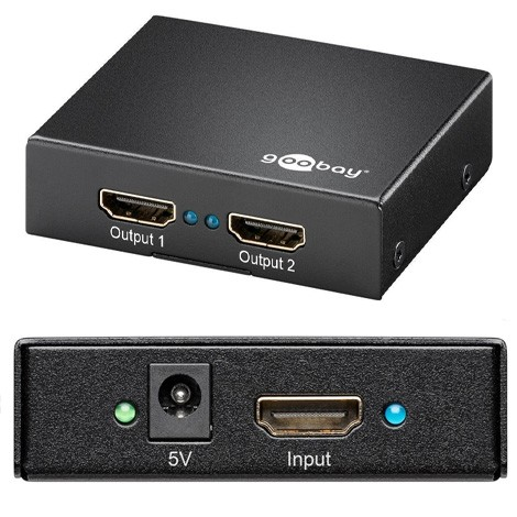 Adapter HDMI 1/2 Port 4K/2K