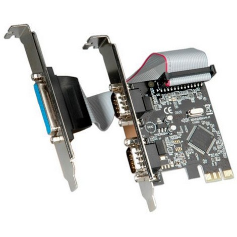 Adapter PCIe 2S/1P