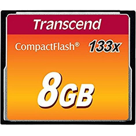 Flash CF Transcend 8GB