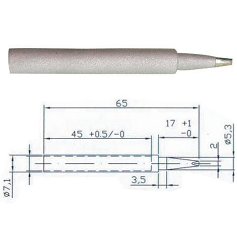 Vrh lemilice TIP 4  2 mm