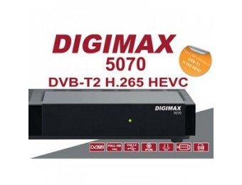 DVB-T2 RECIEVER DIGIMAX 5070