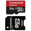 Flash Micro SD Transcend 16GB