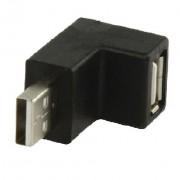 ADAPTER USB A muški-A ženski KUTNI
