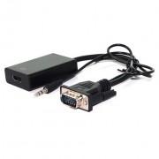 Adapter VGAm + AU na HDMIž