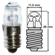 Žarulja  4.8V 300mA E10