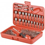 Bits-set 113 parts - S2 tool steel, screwdrivers