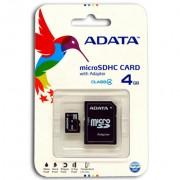 Flash ADATA MicroSD 4G B4