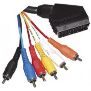 Kabel SCART na CINCH6m