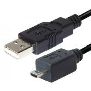 USB A - 8 pol MINI USB