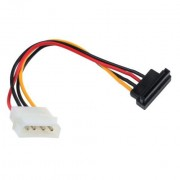 Kabel 4 pin HDD na SATA 10 cm