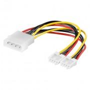 Kabel HDD na 2x floppy 24 cm