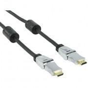Kabel HDMI na HDMI 2.5m kutni