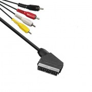 Kabel SCART-4 CINCH 1.5m