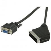 Kabel SCARTm na VGAž