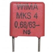 Kondenzator 0.68 uF 63 V