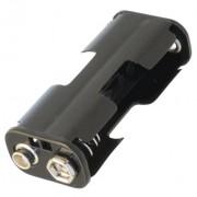 Kućište za baterije 2XR6 + 9V kontakt