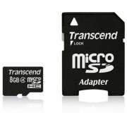 Flash Micro SD 8 GB + adapter