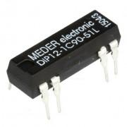 Relej REED 12 VDC 0.5 A DIP12-1C90-51L