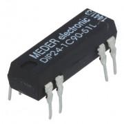 Relej REED 24 VDC 0.5 A DIP24-1C90-51L
