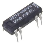 Relej REED 5 VDC 0.5 A DIP05-1C90-51L