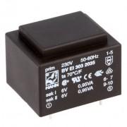 Transformator 2 x 6 V 1.9 VA