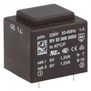 Transformator 2 x 6 V 3 VA
