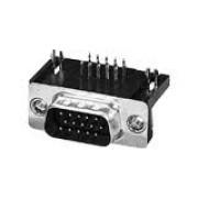 Konektor DB 15m Troredni, print