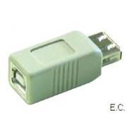 Adapter  USB A ženski - B ženski