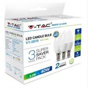 Žarulja LED E14 5.5W 3/1 toplo bijela