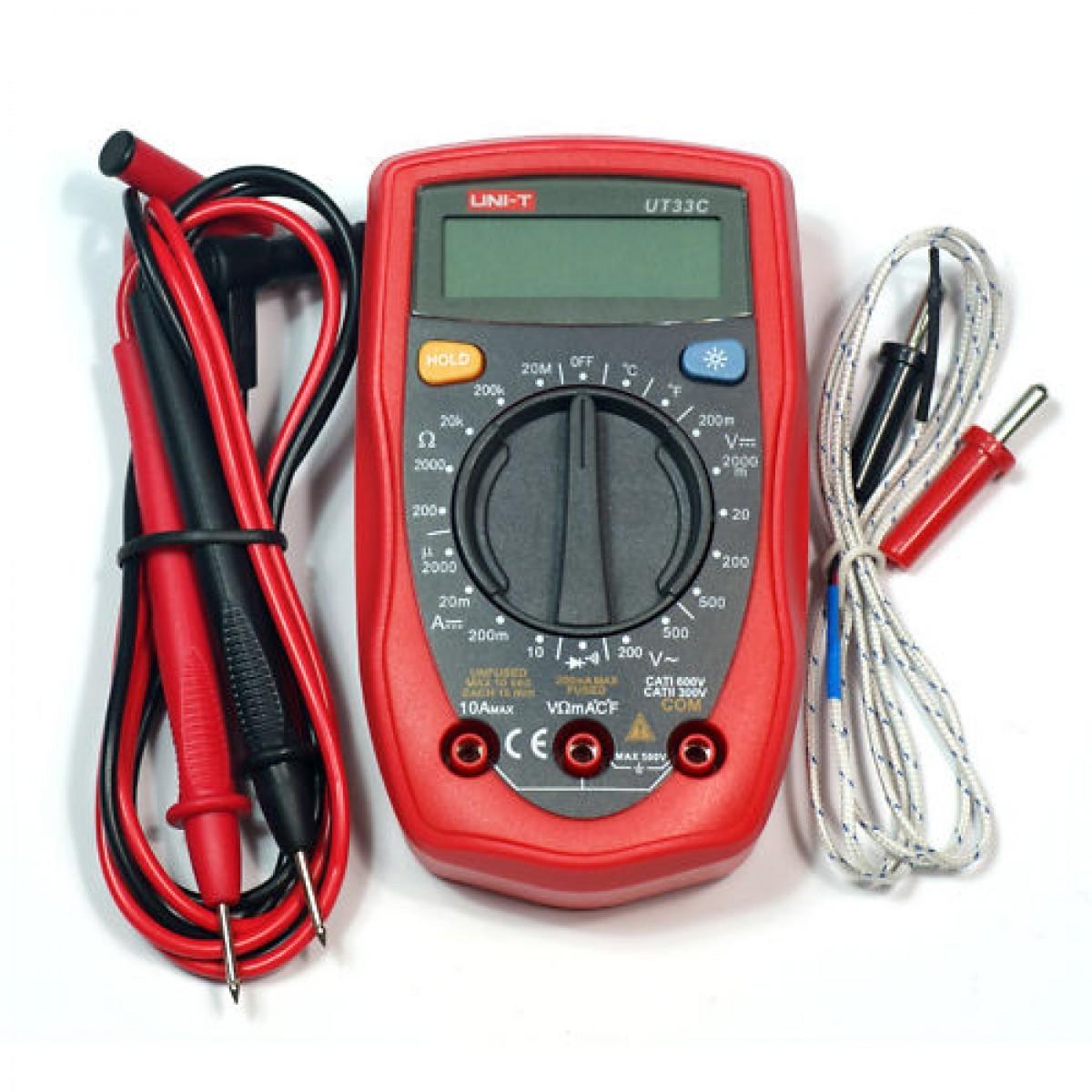 Digital measuring instrument UNI-T UT-33C, multimeter